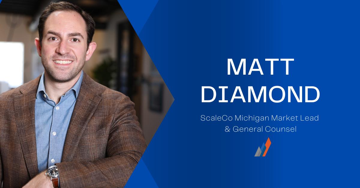 Matt Diamond Michigan Market Lead and General Counsel